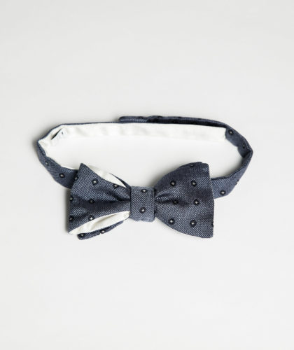The Garnered - Blue Spot Bowtie Maison F The Garnered 002