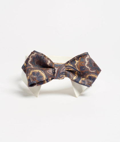 The Garnered - Brown Paisley Bowtie Maison F Ties The Garnered 7