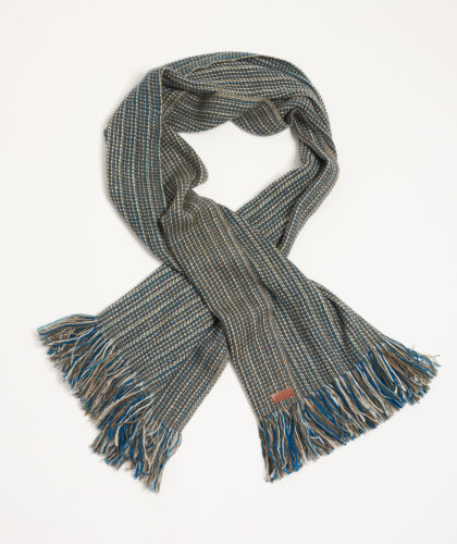 The Garnered - Dawa Melt Scarves Mens Ethical Luxury Scarf Thegarnered