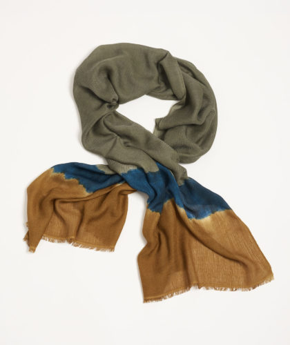 The Garnered - Tara Meltscarves Handwoven Ethical Luxury Unisex Scarf Thegarnered