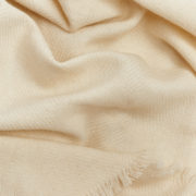 Suman Hand-Woven Scarf in White - Melt Scarves Suman The Garnered Detail