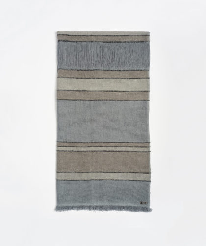 The Garnered - Grey Lalita Melt Scarves The Garnered 1