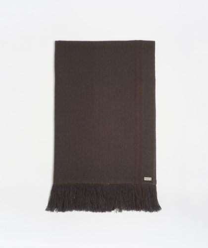 The Garnered - Brown Deepak Melt Scarves The Garnered 49