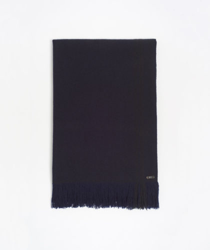 The Garnered - Navy Deepak Melt Scarves The Garnered 61