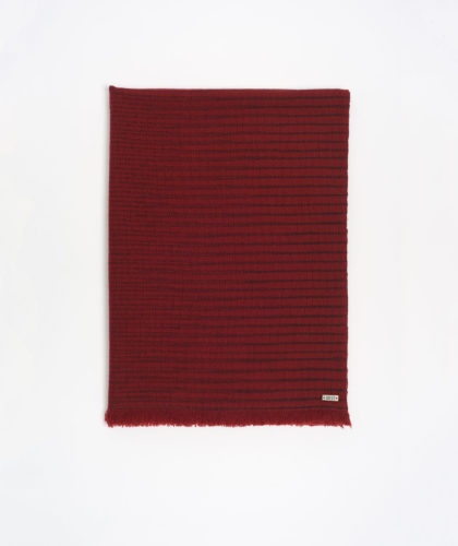 The Garnered - Sushma Red Melt Scarves The Garnered 63