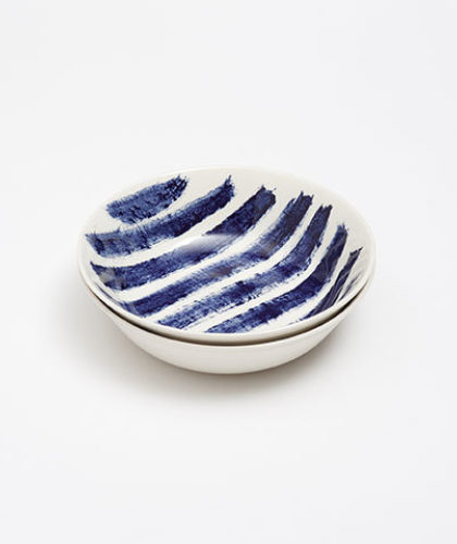 The Garnered - 1882 Indigo Rain Ceramics The Garnered Bowl 2 Thumbnail