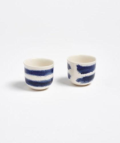 The Garnered - 1882 Indigo Rain Ceramics The Garnered Espresso Cups 2 Thumbnail