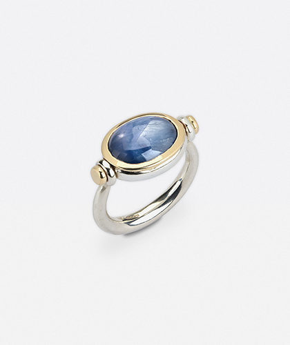 The Garnered - Abby Mosseri Star Sapphire Ring The Garnered Thumbnail