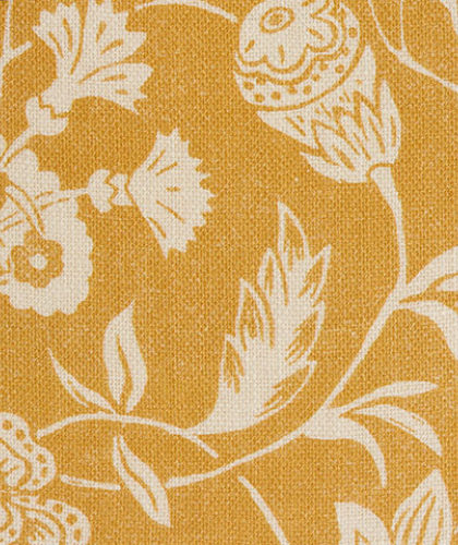 The Garnered - Antoinette Poisson Fabric Indienne Jaune The Garnered Thumbnail