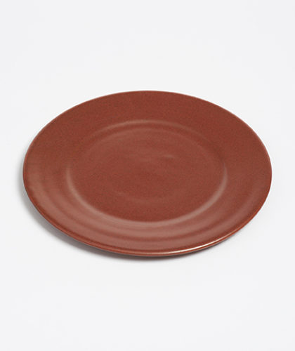 The Garnered - Arielle De Gasquet Deep Terracotta Red Dining Plate The Garnered Thumbnail