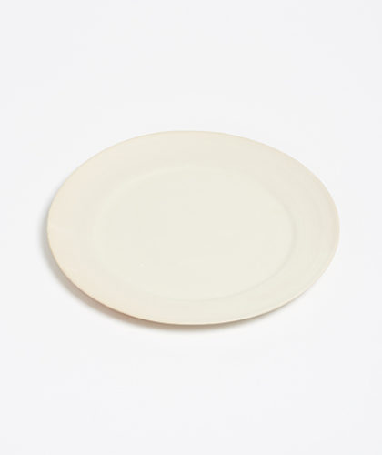 The Garnered - Arielle De Gasquet Off White Dinner Plate The Garnered Thumbnail