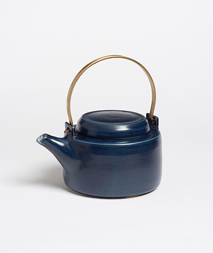 The Garnered - Arielle De Gasquet Small Midnight Blue Teapot The Garnered Thumb