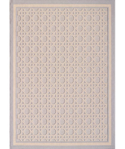 The Garnered - Casa Lopez Rug The Garnered Elina Bleu Ciel Verso Thumbnail Vertical