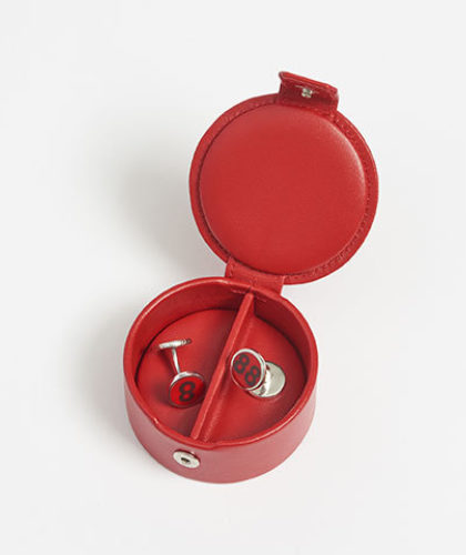 The Garnered - Connolly 88 Cufflinks Red Leather Box The Garnered Thumbnail