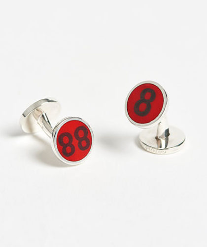 The Garnered - Connolly Number 8 Cufflinks The Garnered Thumbnail