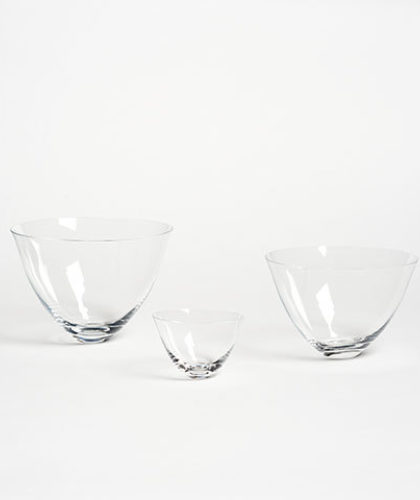 The Garnered - Deborah Ehrlich Glass Set Three Bowls The Garnered Thumbnail
