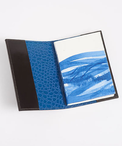 The Garnered - Doe Leather Charlie Lee Potter Notebook Cover The Garnered Thumbnail