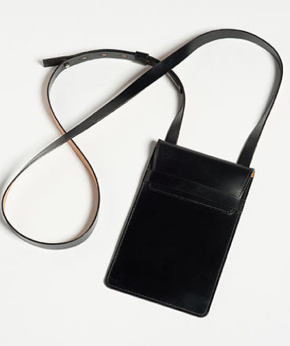 The Garnered - Doe Leather Fine Hand Crafted Phone Pouch The Garnered Thumbnail