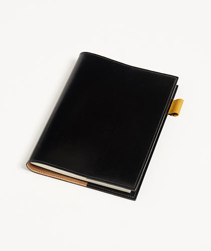 The Garnered - Doe Leather Notebook Cover The Garnered Thumbnail 1