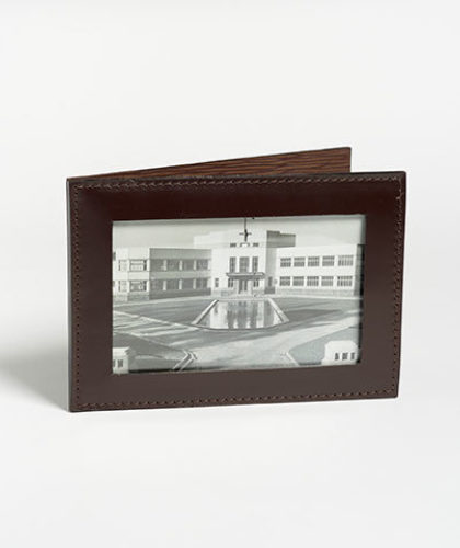 The Garnered - Doe Leather Photograph Frame Landscape The Garnered Thumbnail