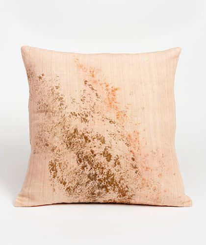 The Garnered - Ellen Williams Fabric Cushion Chestnut Splash The Garnered Thumbnail