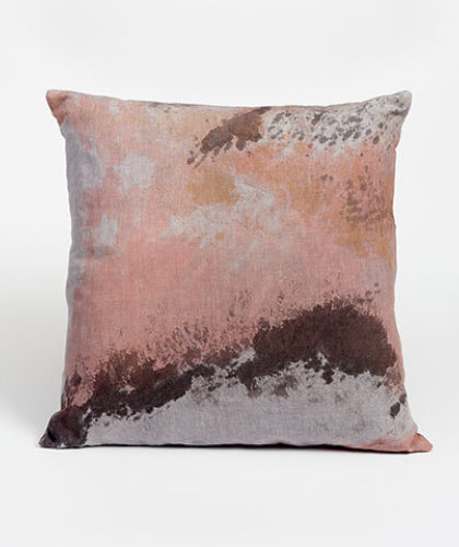 The Garnered - Ellen Williams Fabric Cushion Sunset Storm The Garnered Thumbnail