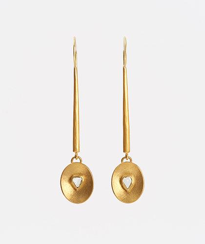 The Garnered - Jean Scott Moncrieff Macle Diamond Earrings The Garnered Thumbnail