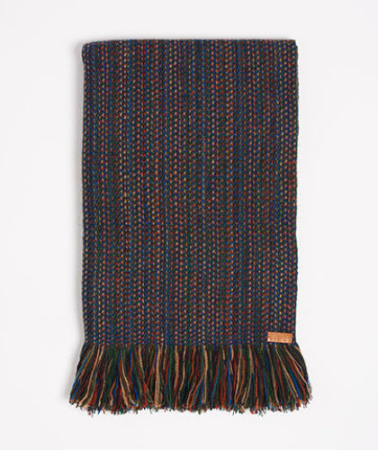 The Garnered - Melt Scarves Blue Fleck Winter Scarf The Garnered Thumbnail