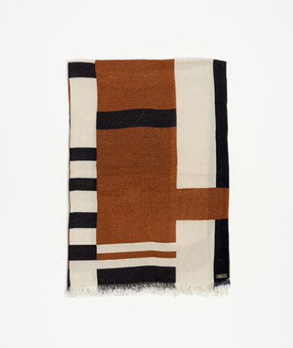 The Garnered - Melt Scarves Kiran Echarpe Print Tobacco Road The Garnered Thumbnail