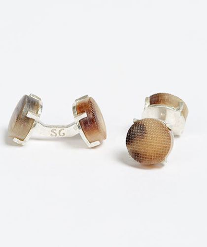 The Garnered - Samuel Gassmann Hunting Cufflinks The Garnered Thumbnail