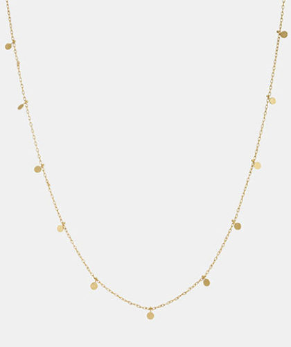 The Garnered - Sia Taylor Even Yellow Gold Dots Necklace The Garnered Thumbnail