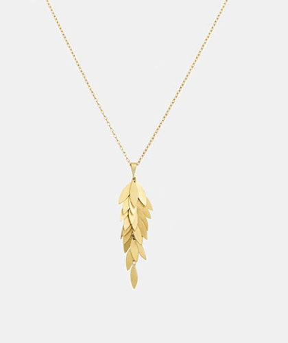 The Garnered - Sia Taylor Yellow Gold Golden Leaf Cluster The Garnered Thumbnail