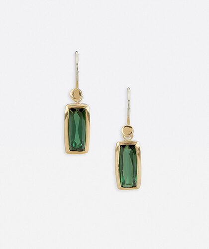The Garnered - Abby Mosseri Tourmaline Sway Earrings The Garnered Thumbnail