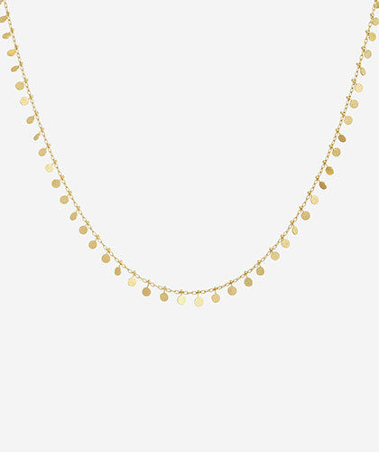 The Garnered - Sia Taylor Evenly Dotted Necklace The Garnered Thumbnail