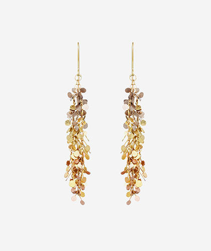 The Garnered - Sia Taylor Gold Big Dot Earring The Garnered Thumbnail