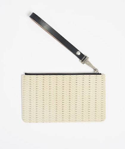 The Garnered - Vintage Pochette Weave Doe Leather The Garnered Thumbnail